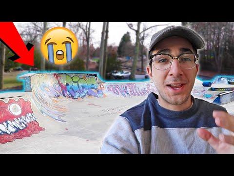 CT Literally Has The Best Skateparks  😭– Willimantic Skatepark Sesh