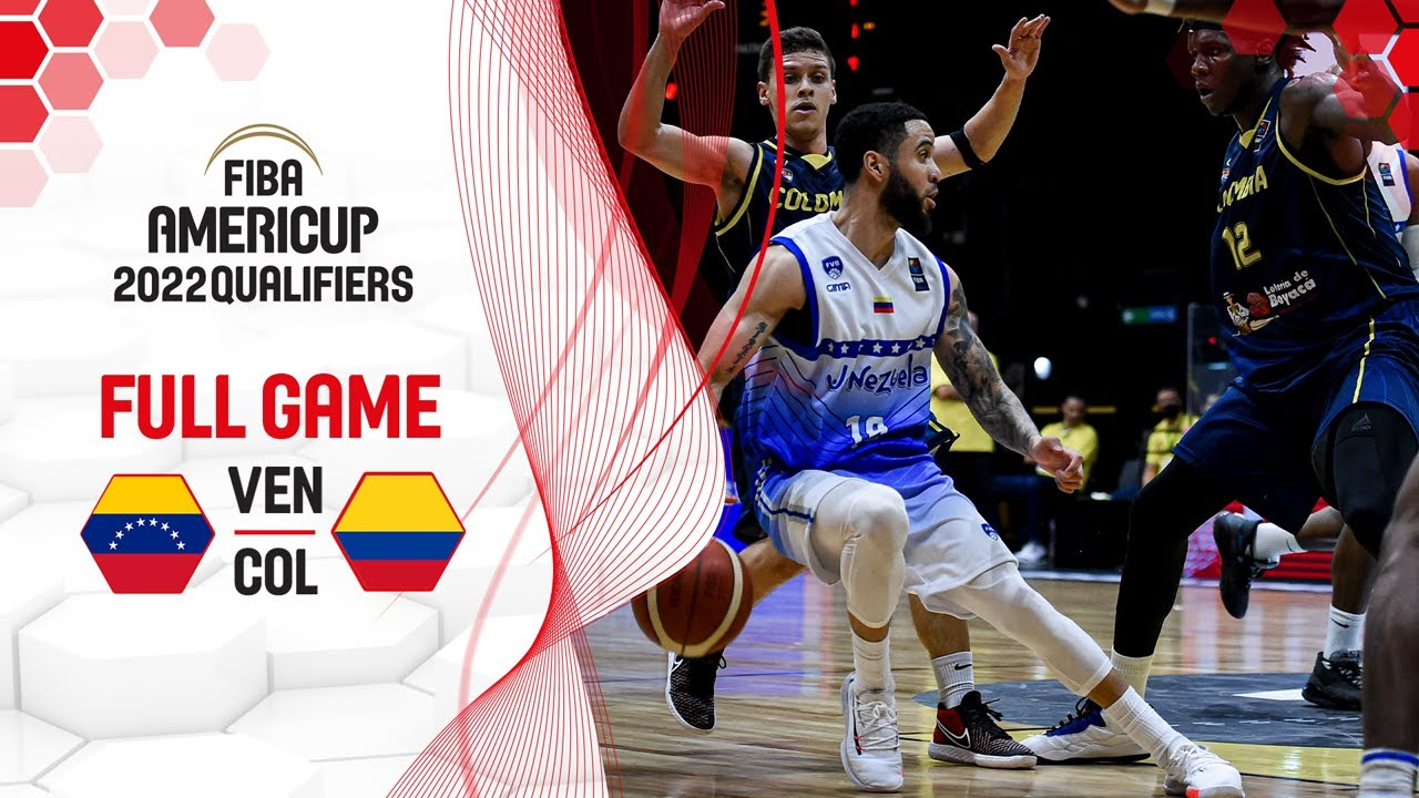 Venezuela v Colombia - Full Game - FIBA AmeriCup Qualifiers 2022