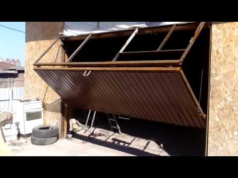 видео: ворота (гараж , двор) Черновой вариант. Пока