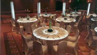 Los Angeles Party Planning Decorate Corporate Event Spandex Chair Covers Lighted Tables