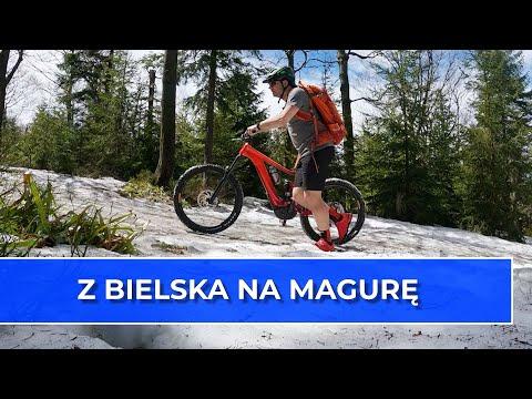 Rowerem przez Szyndzielnię na Klimczok i Kozią Górę (Vlog 119)