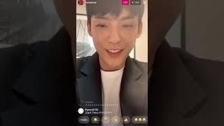 210920 BTOB 비투비 - Lee Min Hyuk 이민혁 Instagram Live