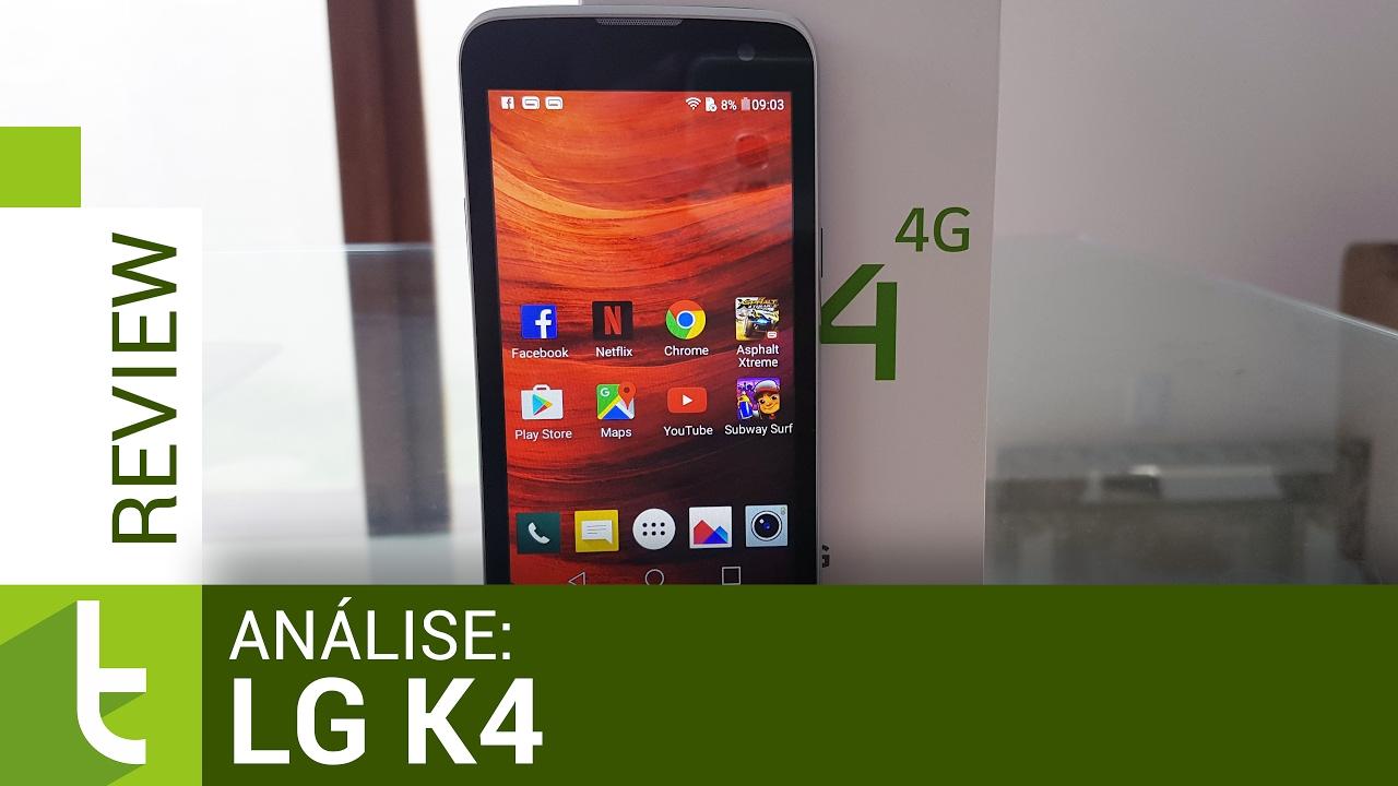 Análise LG K4