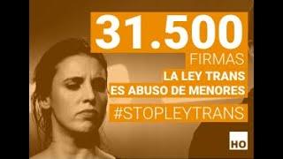 Entregamos 31.500 firmas para frenar la ley trans