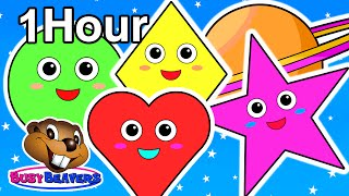 Shapes Adventure Plus More | Nursery Rhymes Collection, Teach Toddlers & Kindergarten Shape Names