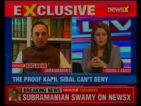 BJP leader Subramanian Swamy in an exclusive conversation with NewsX