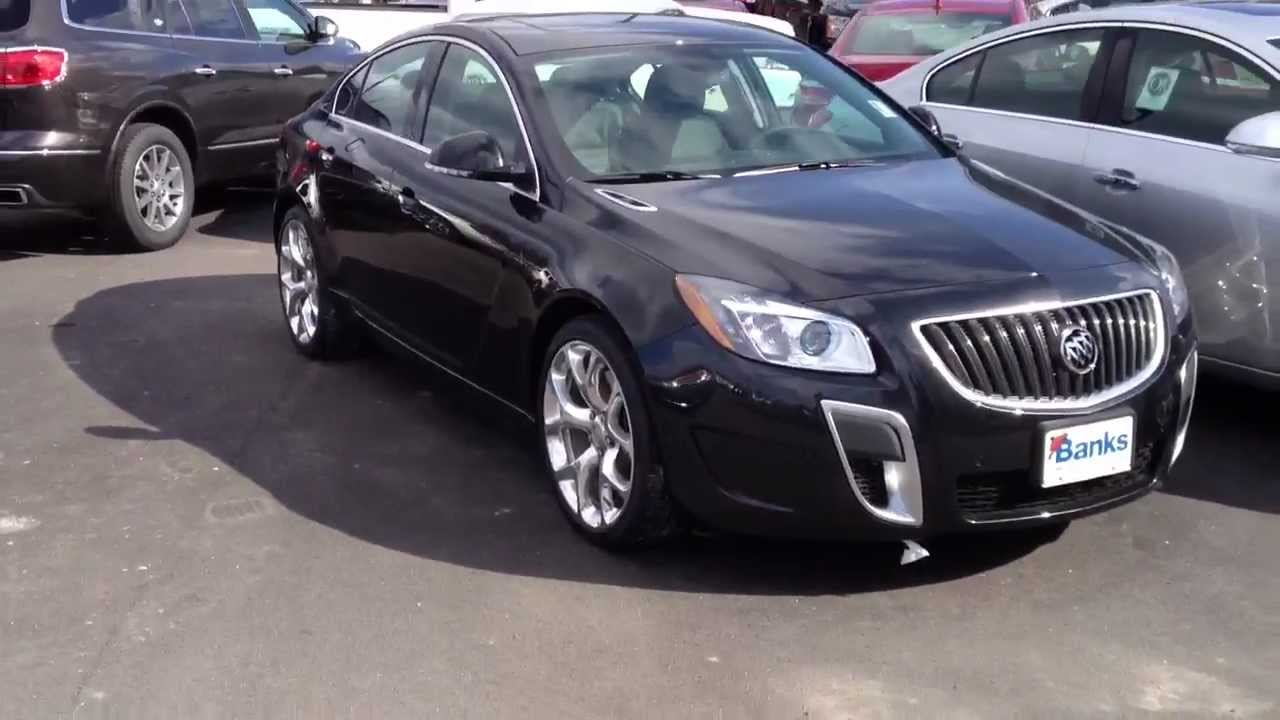 2013 Buick Regal Gs Turbo Walkaround Overview Youtube