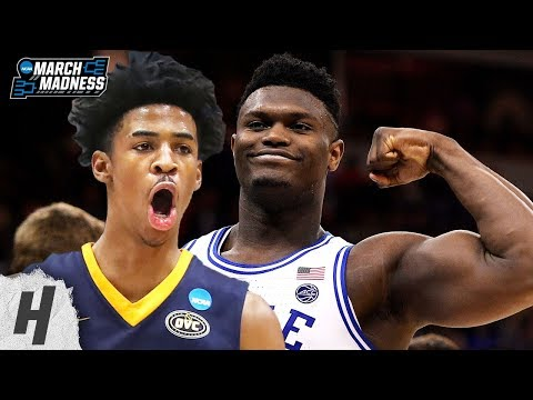 Best NCAA Plays – 1st Round | 2019 NCAA March Madness