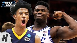 Check out the best plays from Zion Williamson, Ja Morant & more | 2019 NCAA March Madness First Round ✓   Subscribe, Like & Comment for More!