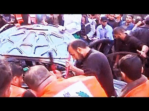 Aftermath of strike that killed Hamas military chief