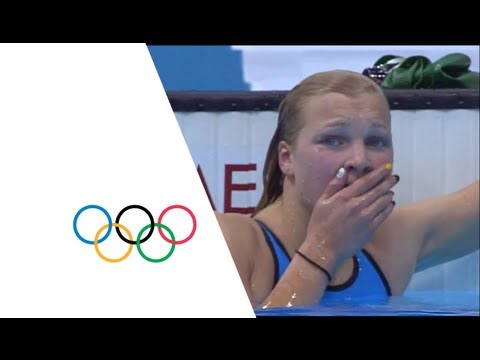 Ruta Meilutyte Wins Women's 100m Breaststroke Gold - London 2012 Olympics