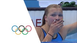 Ruta Meilutyte Wins Women's 100m Breaststroke Gold - London 2012 Olympics(Check out the brandnew Olympic Channel: http://go.olympic.org/watch?p=yt Swimming Women's 100m Breaststroke Final Full Replay from the Aquatics Centre ..., 2012-07-30T22:20:32.000Z)