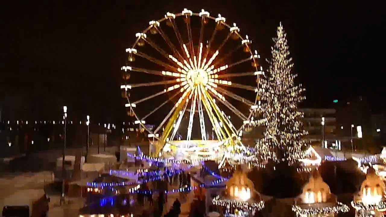 Weihnachtsmarkt An Der Rhein Galerie Ludwigshafen Youtube