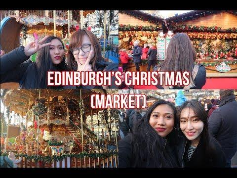 Edinburgh's Christmas (Market) Vlog