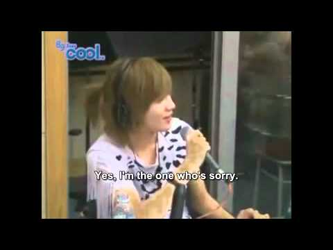 100728 SHINee Radio Part 5 ENG SUB Electric Heart Live Performance Included