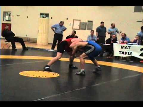 2010 Ontario Junior Championships: 84 kg Final Scott Wheatley vs. Kevin Barret