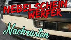 VW GOLF 3 NEBELSCHEINWERFER NACHRÜSTEN TUTORIAL / ANLEITUNG