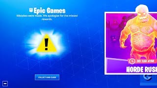 Fortnite is SORRY.. (GET NEW FREE REWARDS!)