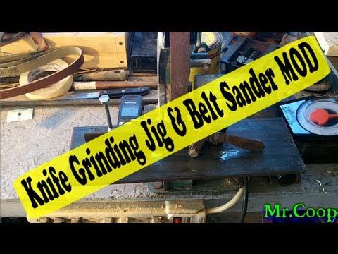 Knife Sharpening Harbor Freight Belt Sander Sharpening Tool