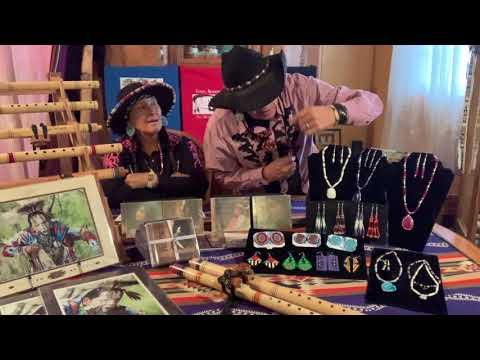 Shelley Morningsong And Fabian Fontenelle - Denver American Indian Festival