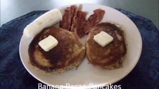 Banana Pecan Pancake