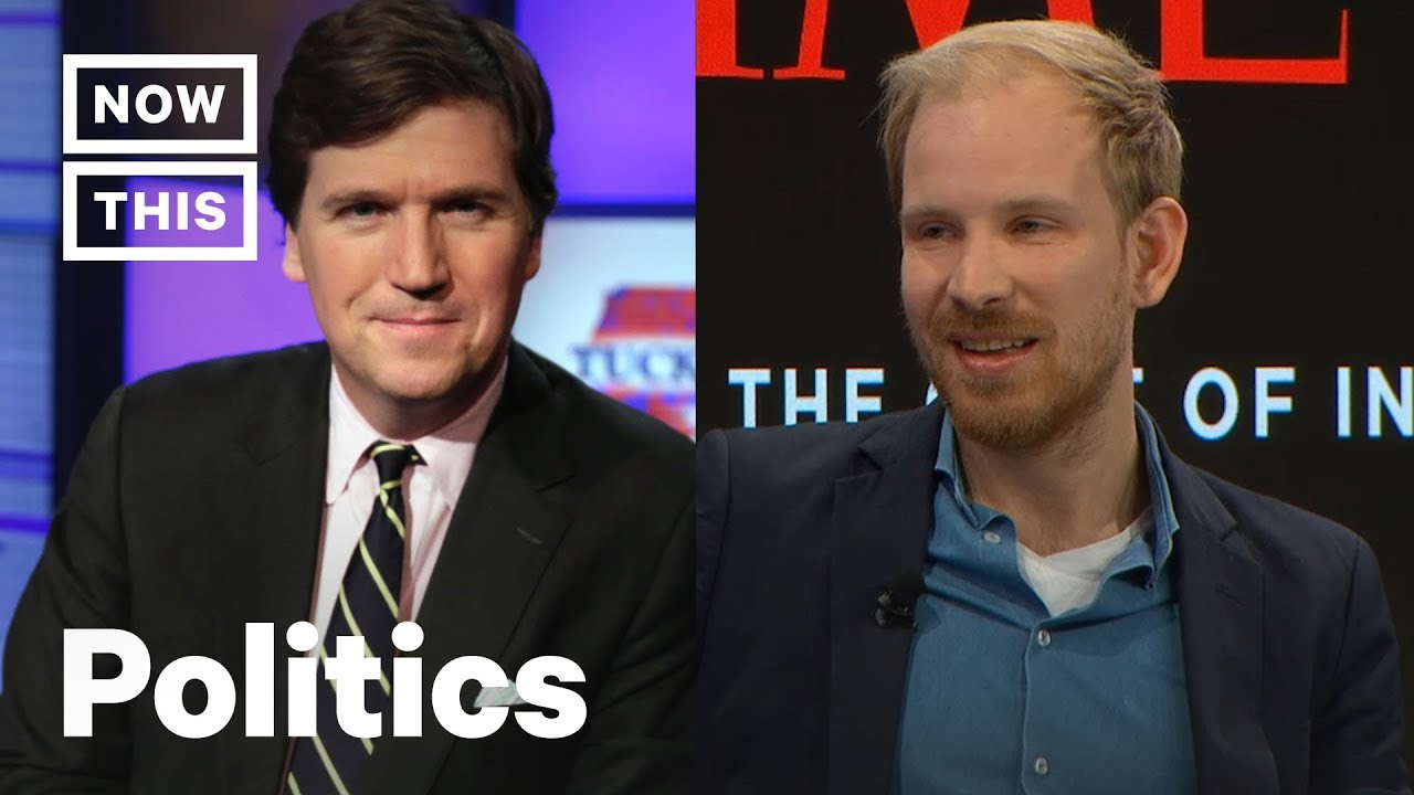 Tucker Carlson Blows Up at Rutger Bregman in Unaired Fox News Interview   NowThis