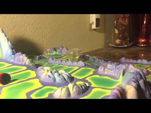 Tornado Rex Board Game Action