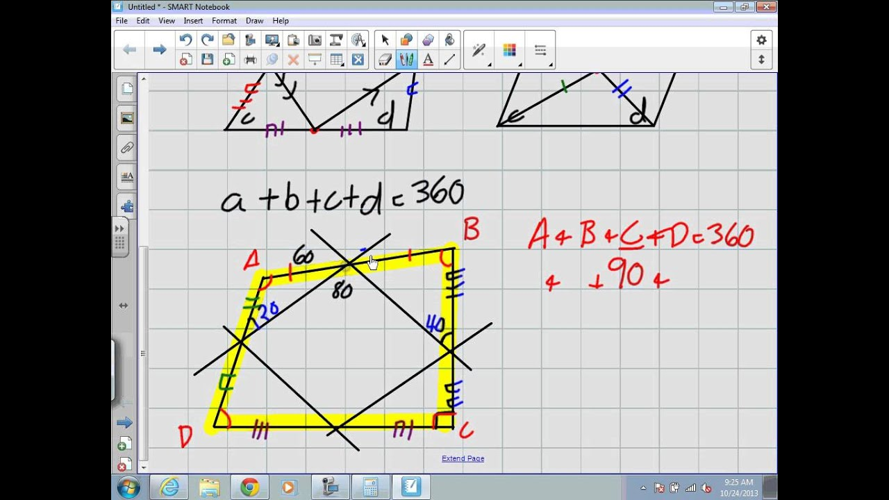 small resolution of Properties of Quadrilaterals (Grade 9 Academic Lesson 7.5) - YouTube