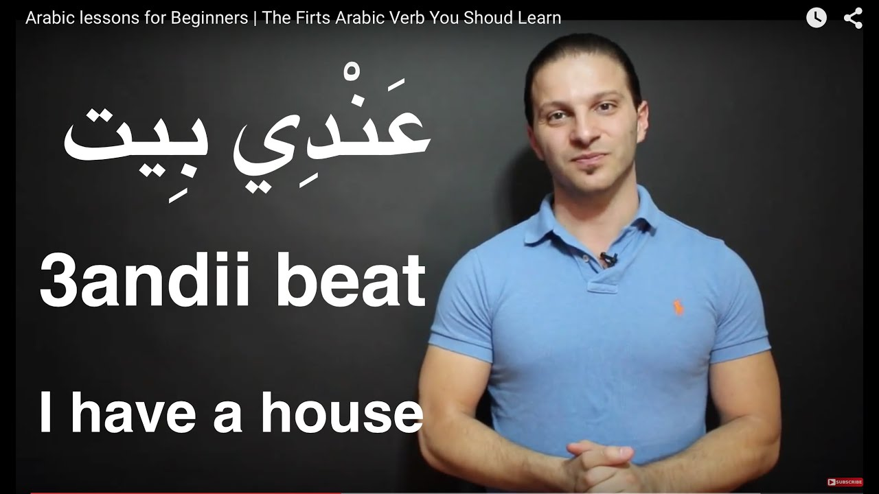 arabic lessons for beginners the most important arabic verbs youtube. Black Bedroom Furniture Sets. Home Design Ideas