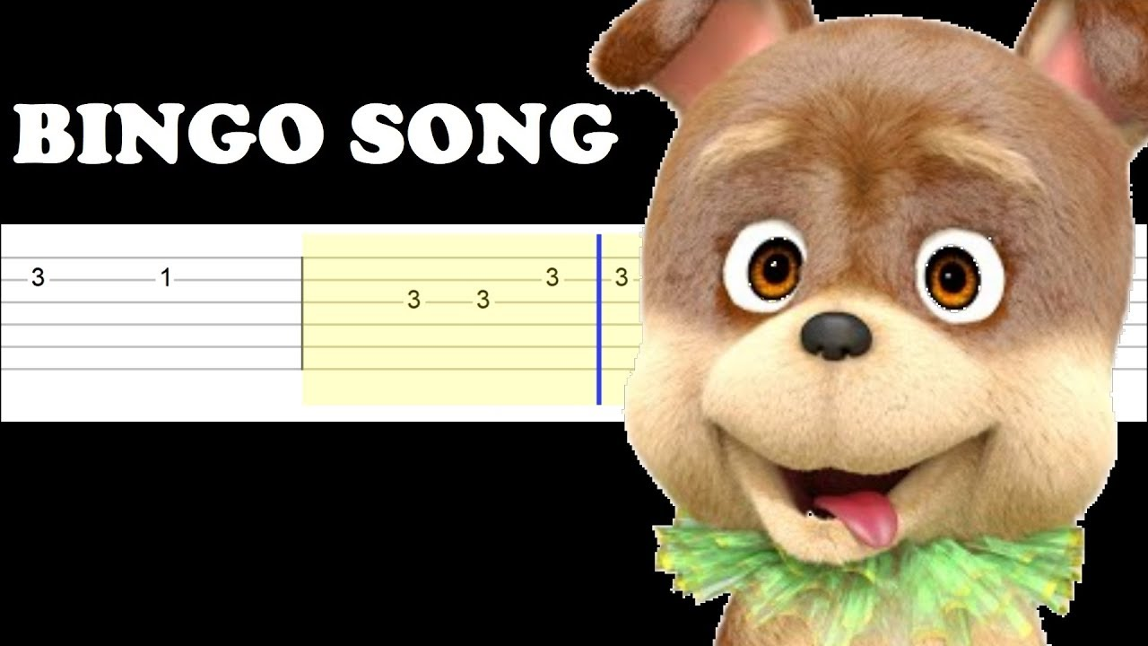 Nursery Rhymes Easy Guitar Tabs