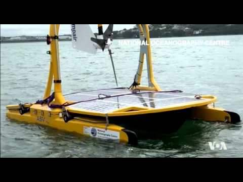 Robotic Marine Vehicles Explore Celtic Sea