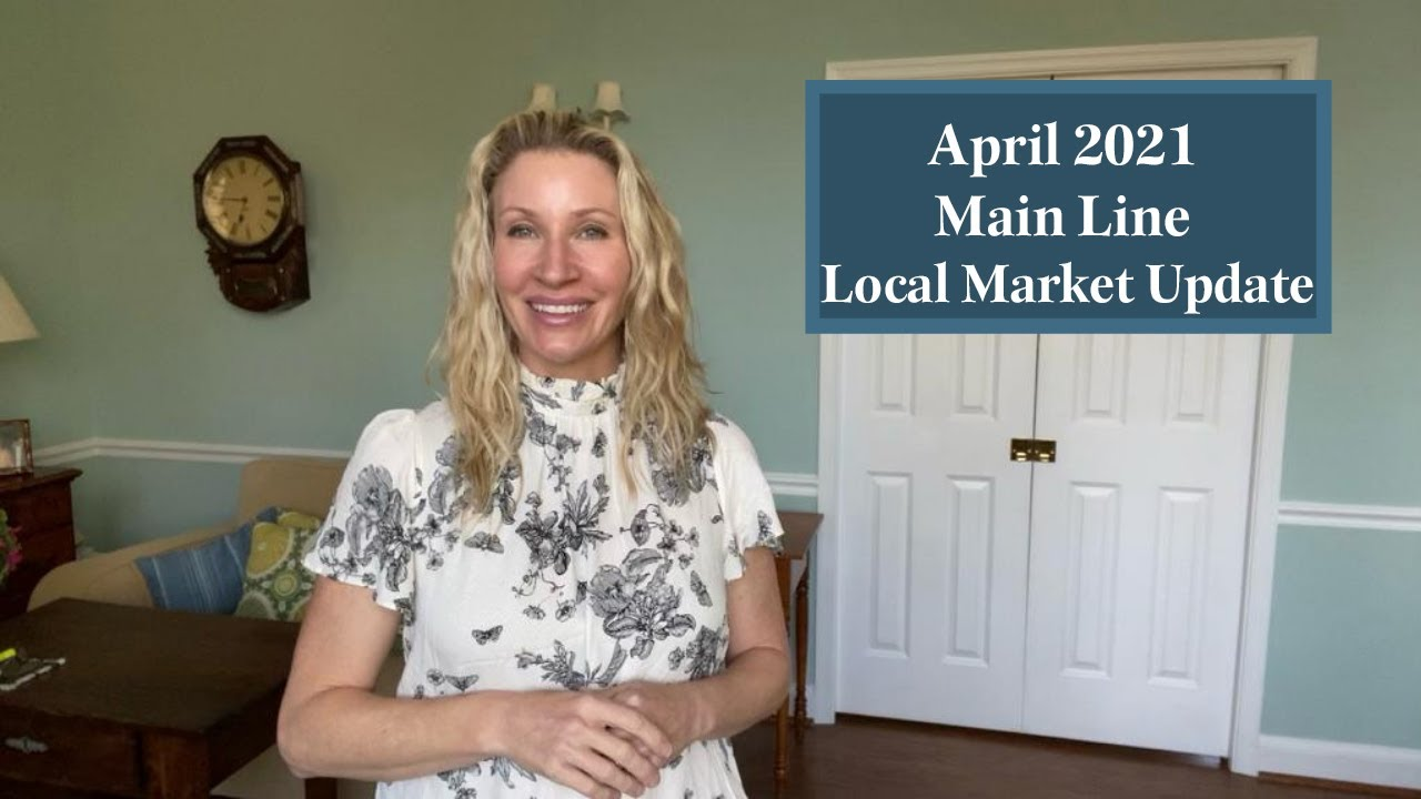 April 2021 Main Line🏘Local Market Update📈  with Leading Luxury Realtor Kimmy Rolph🙋🏼♀️