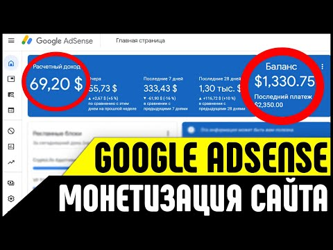 Зарабатывай от 5000 в день! Google Adsense - лучшая партнерка для заработка рекламе в Интернете