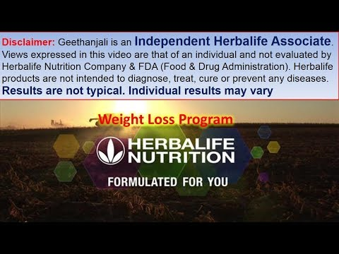 Herbalife Diet Plan - Weight Loss Program