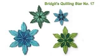 Bridgit's Quilling Star No. 17 (Tutorial)