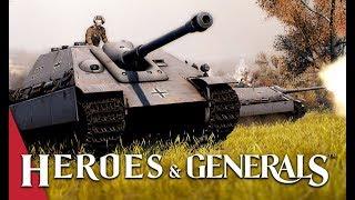 Big Cats! Heroes and Generals - Panzerjäger V Jagdpanther