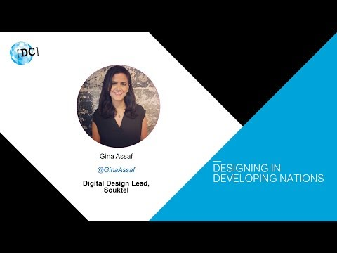 World IA Day DC 2018 - Gina Assaf on Designing in Developing Nations
