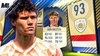 FIFA 18 PRIME VAN BASTEN REVIEW | 93 PRIME VAN BASTEN PLAYER REVIEW | FIFA 18 ULTIMATE TEAM