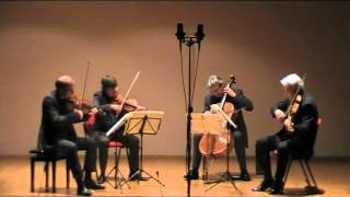 Quartetto Auryn - J. Haydn - quartetto op 74 n 3 - minuetto, allegretto-trio (3/4)
