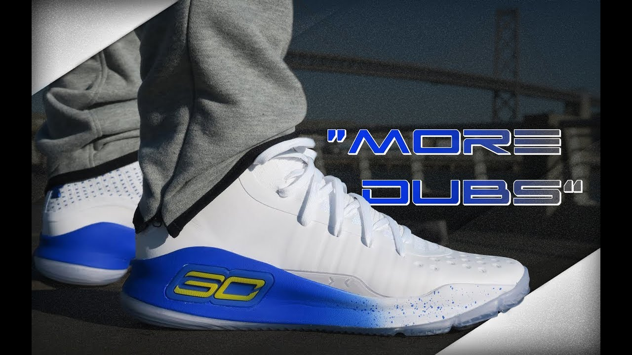 09d780541ef UNDER ARMOUR CURRY 4  MORE DUBS  - YouTube