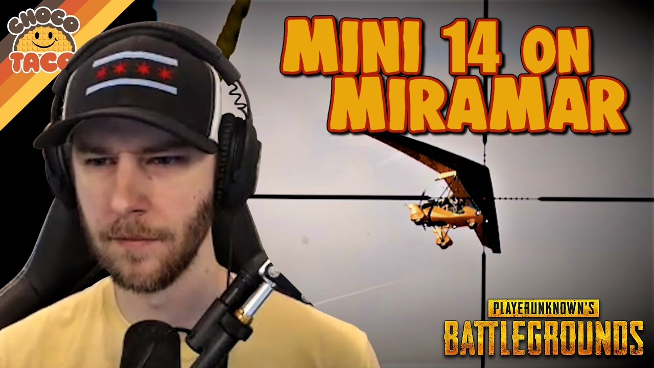 Why is chocoTaco Using a Mini 14 on Miramar? ft. hambinooo - chocoTaco PUBG Duos Gameplay