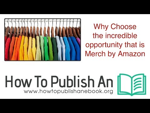 Why Choose Merch by Amazon as your Print On Demand Platform