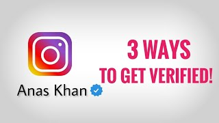 3 LEGAL Ways to get VERIFIED ON INSTAGRAM/FACEBOOK!