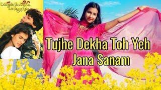 Tujhe Dekha Toh Yeh Jana Sanam [DDLG] Cover Dancing Version 2.0 || HD 720pix