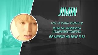 Video BTS Jimin - Intro: Serendipity Lyrics (Han, Rom, Eng) download MP3, 3GP, MP4, WEBM, AVI, FLV Juli 2018