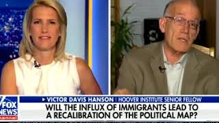 Laura Ingram immigration by the numbers with guest Victor Davis Hanson