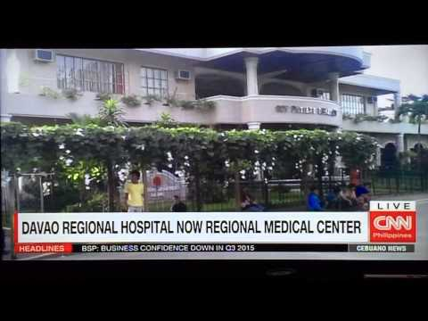 Davao Regional Hospital is now a medical center