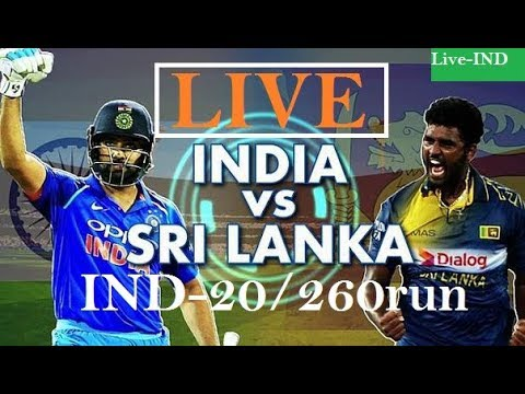 IND Vs SL 2nd T-20 Highlight and Commentary