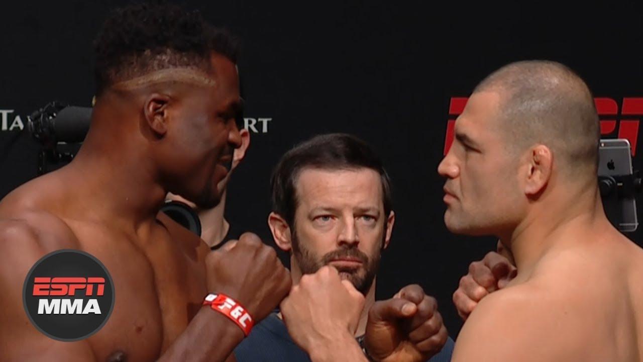 UFC Fight Night: Ngannou vs. Velasquez Weigh-ins [FULL] | ESPN MMA