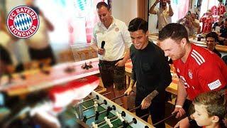 FC Bayern visit fan clubs